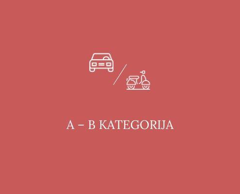 Liječnički pregled za polaganje A i B kategorija
